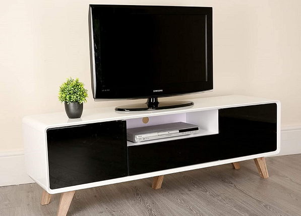 best tv with center stand