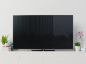 how to reset samsung tv with black screen